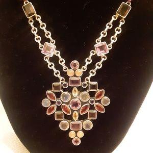Nicky Butler Multi Gemstone Necklace
